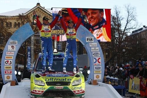 WRC瑞典站赫沃宁折桂 福特赢得揭幕战