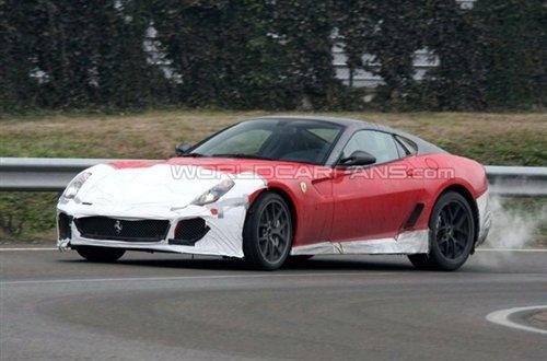 将于下半年发布 法拉利599 GTO谍照曝光