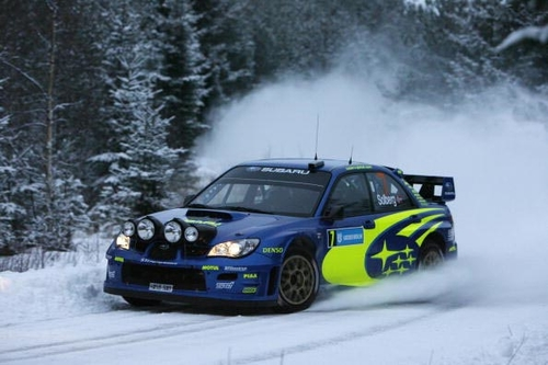 PWRC首战瑞典 斯巴鲁车手包揽冠亚军