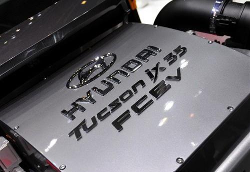 搭载两种柴油机 现代ix35混合动力亮相
