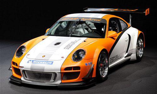 日内瓦国际车展 保时捷GT3R混动版发布