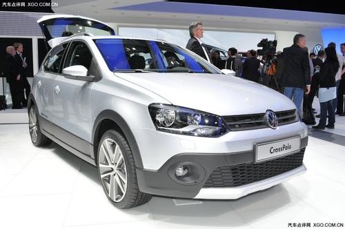 日内瓦车展 新一代CrossPolo实车发布