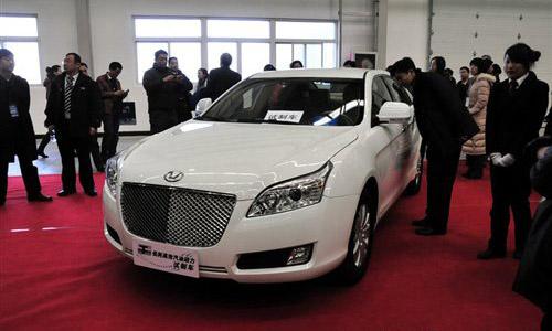 北京车展将亮相 华泰B11将于3月底下线