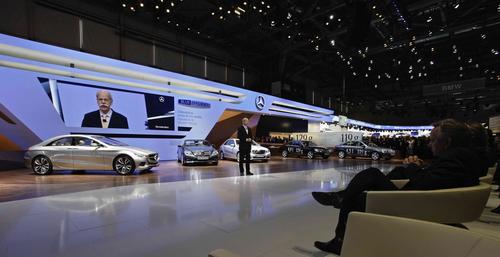 梅赛德斯-奔驰携多款新车亮日内瓦车展
