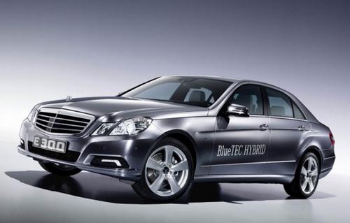 2011款奔驰E300 Bluetec混合动力亮相