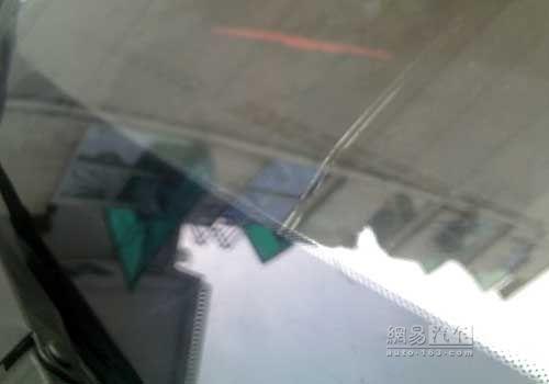 维修站免费更换 骏捷FRV前玻璃自动爆裂
