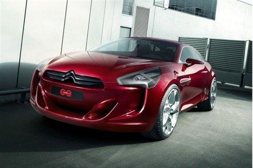 采用混合动力 雪铁龙GQ概念车图片发布