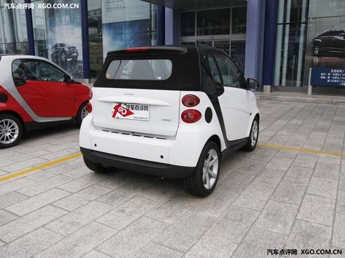 售价14万以内 奔驰Smart简配版将引入