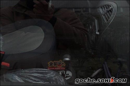 配备AMT变速箱 瑞麒X1新车路试照曝光