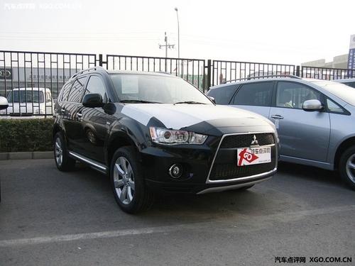 先进口后国产 三菱ASX北京车展将亮相
