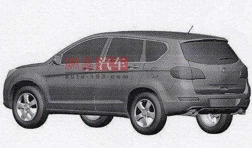 北京车展首发 长城全新SUV车型首曝光