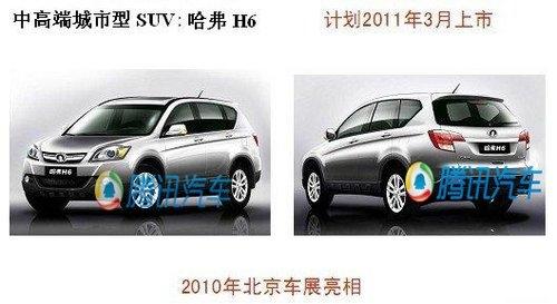 如果是一款轿车底盘结构的SUV,这款车型由效果图看,结合了目前上