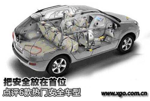 把安全放在首位 6款热门安全车型点评