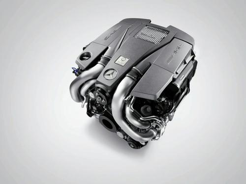 功率达420千瓦 奔驰全新5.5升V8发动机
