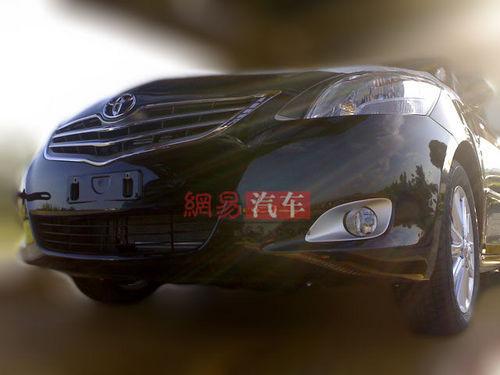 预计7月份上市 丰田新款威驰谍照曝光