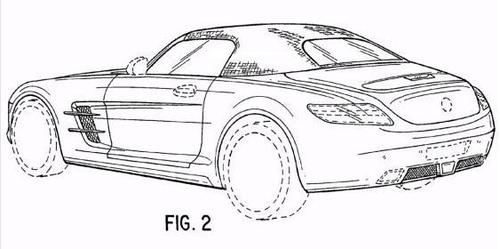 或同配6.2升V8 奔驰SLS AMG敞篷申报图