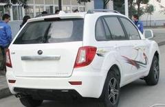 2010力帆SUV首次亮相 整车参数曝光