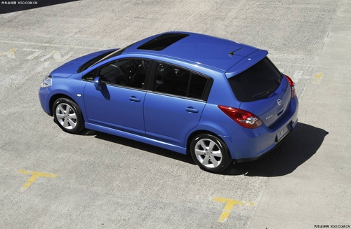 售价大幅下探 2010款Tiida在澳洲推出