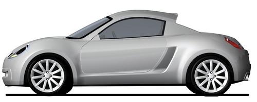 依然有望推出 曝尘封多年MG跑车效果图