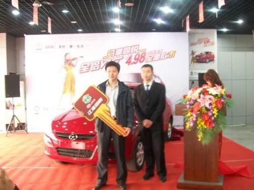 江淮同悦全铝VVT 4.98万标准型全面上市
