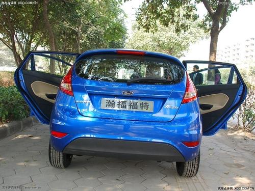 7.89-8.19万 新嘉年华推出1.3L三厢车型