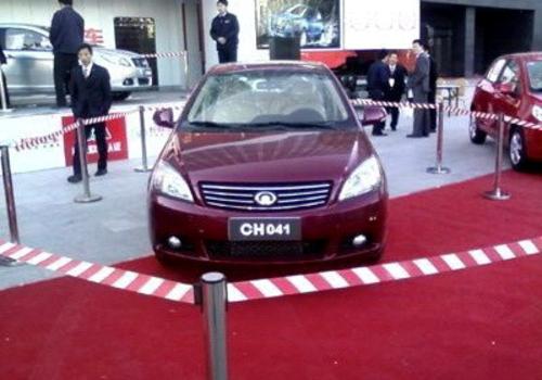 长城首款A级三厢轿车车展亮相 年内推出