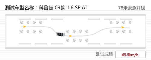 驾驶轻松/操控极限高 测试科鲁兹 1.6AT