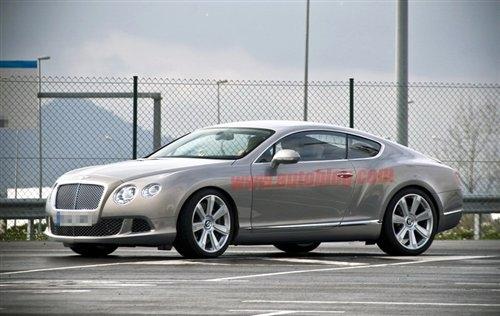 下半年发布 新款宾利欧陆GT谍照曝光