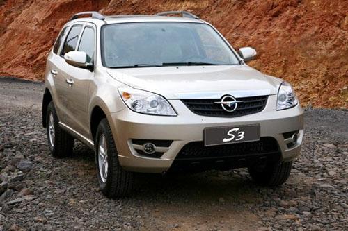 S3登陆武汉 海马SUV汽车售价低于15万