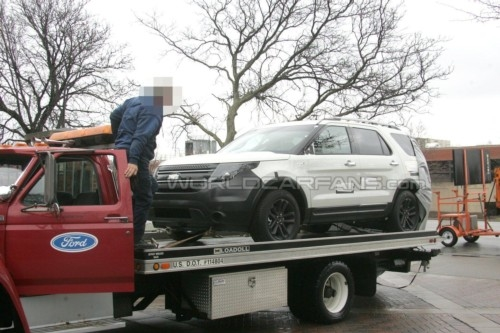 纽约车展首发 福特2011款Explorer谍照