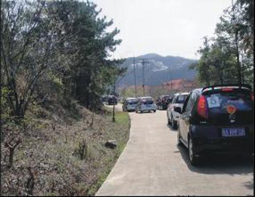 艾瑞宝迪桃色三月 双峰山自驾游结束