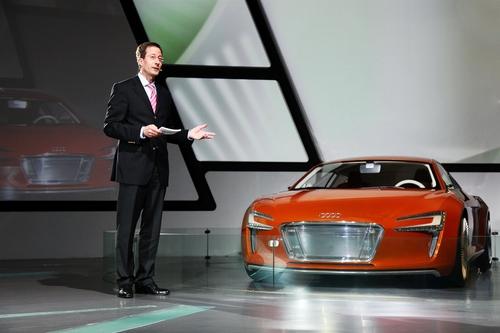 奥迪 引领整车高效科技四大发展趋势