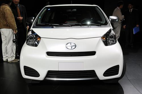 聚焦纽约车展 2011款丰田Scion iQ亮相