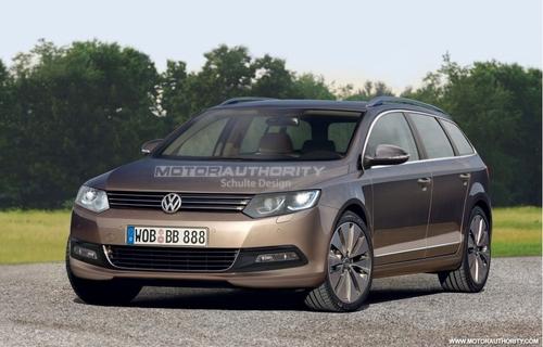 巴黎车展登台 新一代帕萨特或10月发布