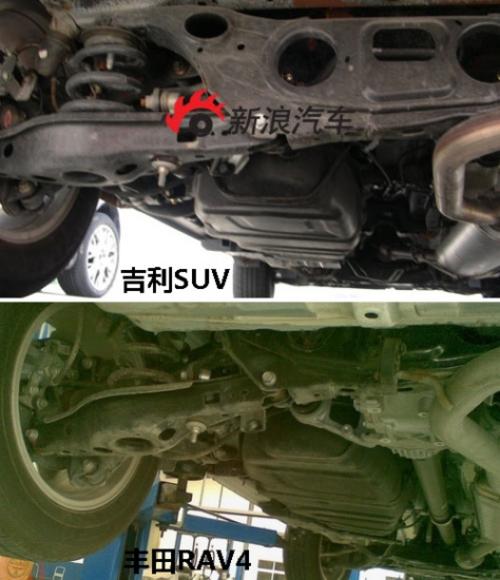 打造中国版RAV4 吉利帝豪EX7谍照详解