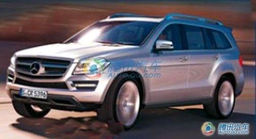 预计明年发布 奔驰换代GL效果图首曝光