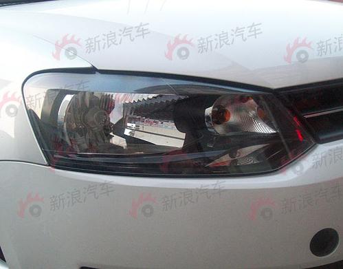标配ESP是亮点 上海大众新POLO无伪谍照