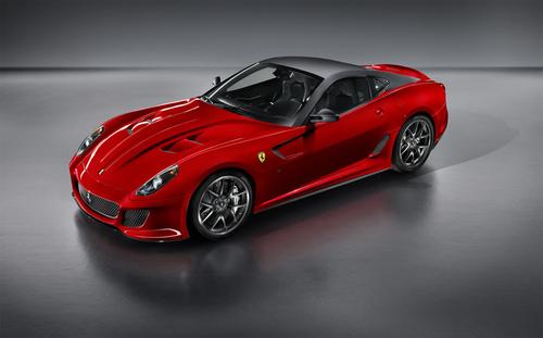 极速跑车出世 法拉利599 GTO车展首发