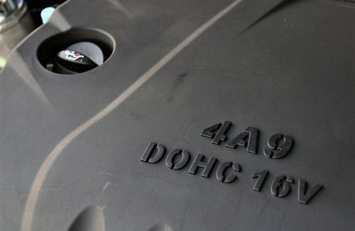 技术更先进 搭载4A9发动机的自主车型