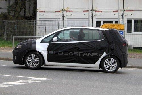 今年年末投产 现代全新小型车路试曝光