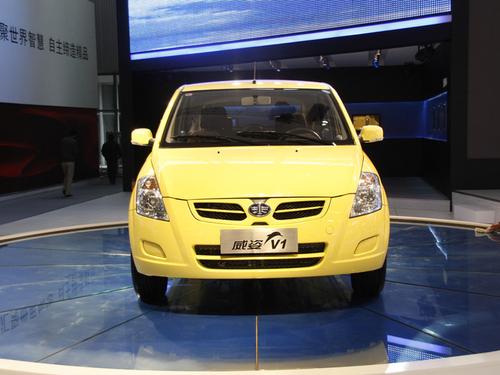 夏利将小改款 天津一汽威姿V1车展上市