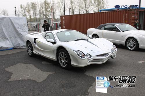 北京车展探馆 光冈白色大蛇提前亮相
