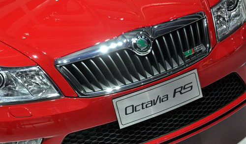 搭载2.0T发动机 斯柯达明锐RS正式亮相