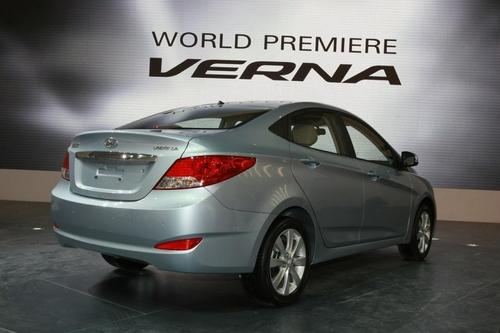 聚焦北京车展 北京现代VERNA全球首发