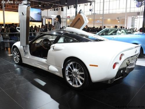 聚焦北京车展 世爵C8 Aileron售457万