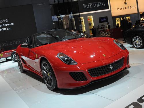 北京车展实拍 符合赛车标准的车599 GTO