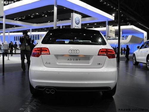 下半年引入国内 奥迪A3北京车展登场