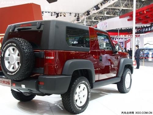 配备2.4L发动机 北汽B40北京车展亮相