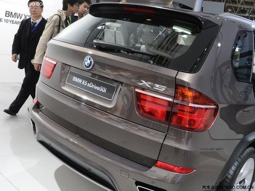登台北京车展 2011款宝马X5于7月上市