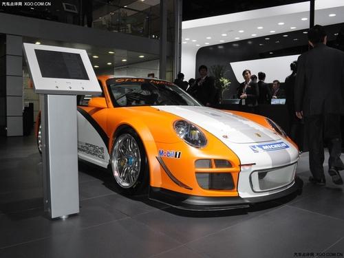 车展实拍 混合动力战车保时捷911 GT3